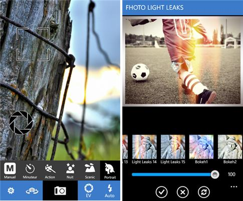 Edite suas imagens para mostrar aos amigos.
