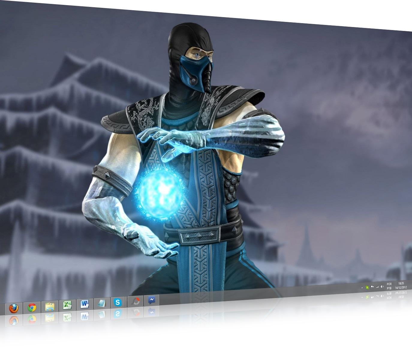Mortal Kombat Windows Theme