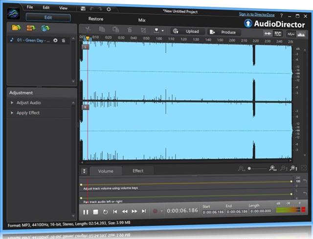 CyberLink AudioDirector - Imagem 1 do software