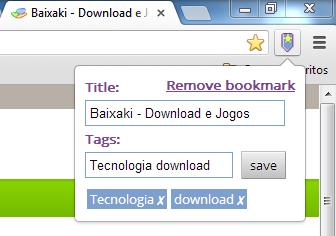 Bookmarks Tagger - Imagem 2 do software