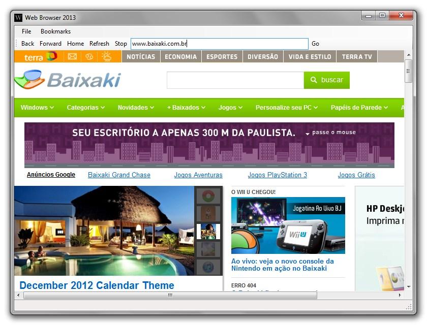 Web Browser 2013 Download para Windows Grátis