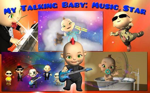 My Talking Baby Music Star - Imagem 1 do software