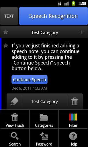 ListNote Speech to Text Notes - Imagem 1 do software