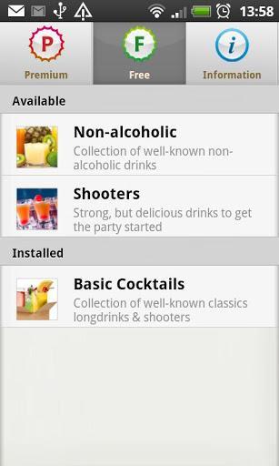 Cocktail Flow - Drink Recipes - Imagem 2 do software