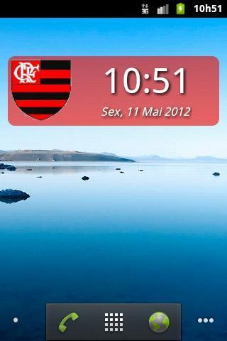 Digital Clock Flamengo Download Para Android Grátis