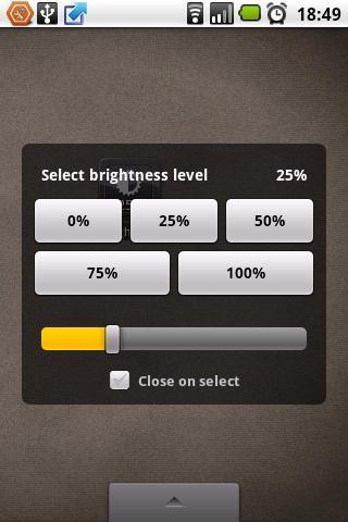Brightness Level - Imagem 2 do software