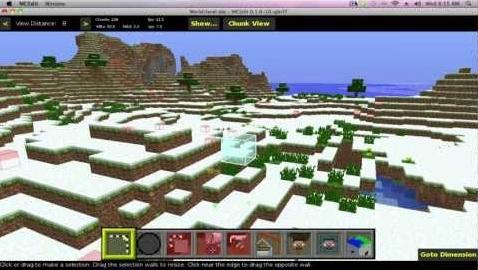 MCEdit - Imagem 1 do software