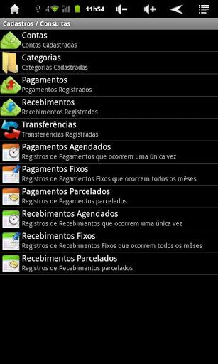 Canarinho – Finanças - Imagem 2 do software