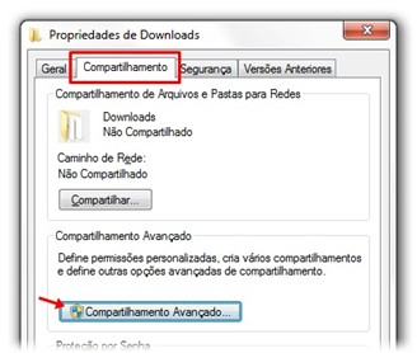 Como compartilhar pastas do Windows 7 com outros