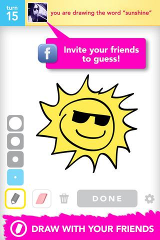 Draw Something by OMGPOP - Imagem 2 do software