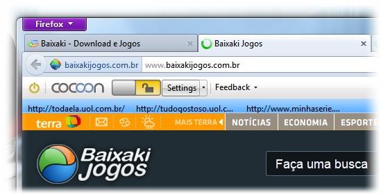 Cocoon for Mozilla Firefox - Imagem 3 do software