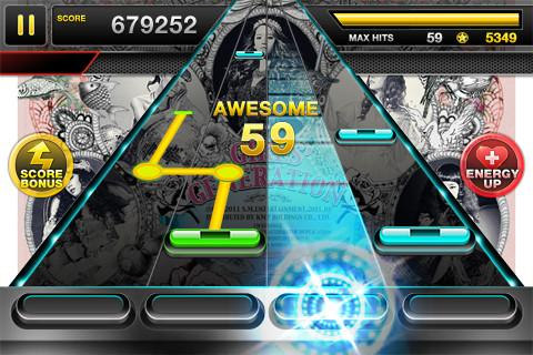 TAP SONIC - Rhythm Action - Imagem 1 do software
