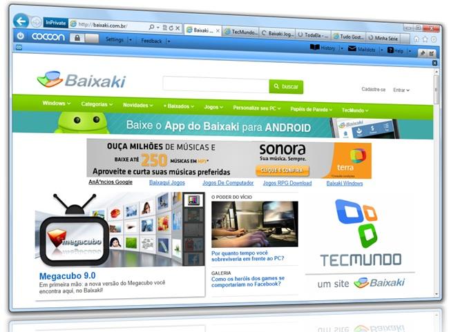 Cocoon for Internet Explorer - Imagem 1 do software