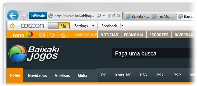Cocoon for Internet Explorer - Imagem 4 do software
