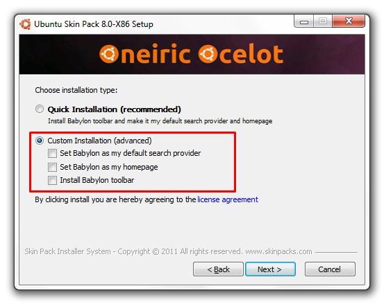 Ubuntu Transformation Skin Pack - Imagem 2 do software