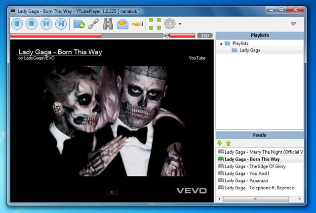 Assista vídeos e crie as suas playlists