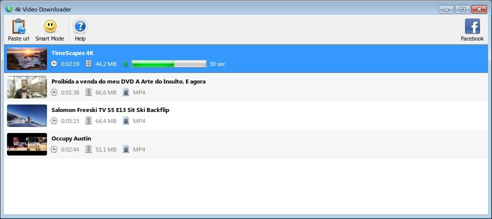 4k Vimeo Downloader - Imagem 1 do software