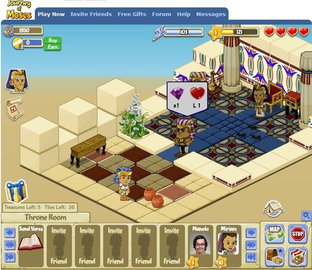Visão geral da interface do jogo