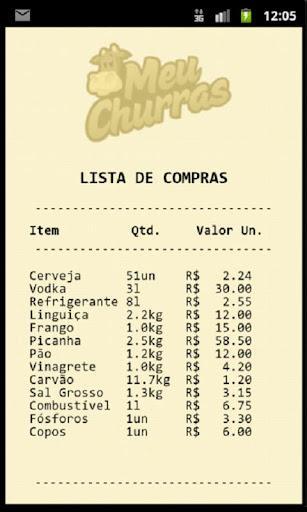 Meu Churras - Imagem 4 do software