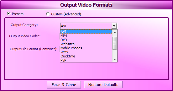 Video Cutter Max - Imagem 3 do software