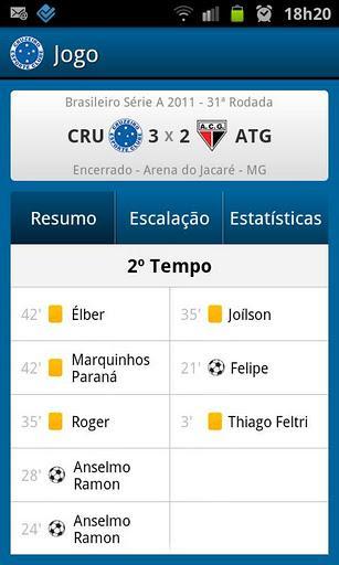 Cruzeiro SporTV - Imagem 2 do software