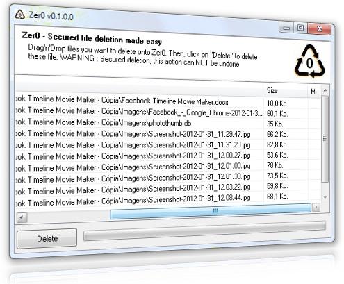 Zer0 - Imagem 1 do software