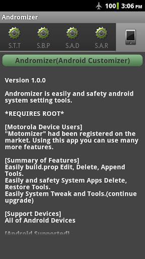 Andromizer - Imagem 1 do software