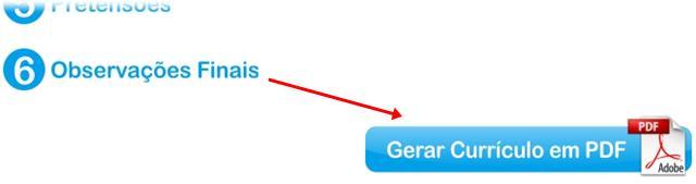 Clique no botão para gerar o arquivo PDF