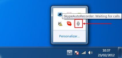 Skype Auto Recorder - Imagem 2 do software