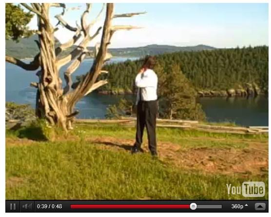 Vídeo com os alongamentos