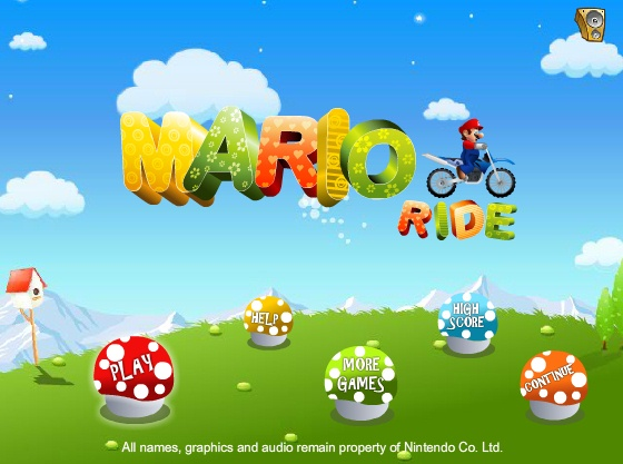 Mario ride Online - Imagem 1 do software