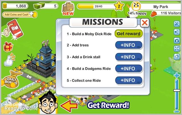 Social Park - Imagem 2 do software