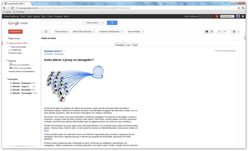 Super Full Feeds for Google Reader