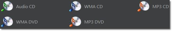 Faixas de áudio