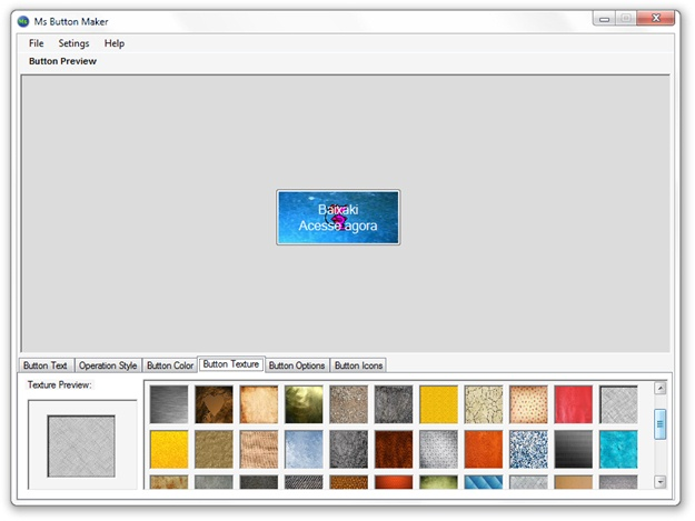 Ms Button Maker - Imagem 1 do software
