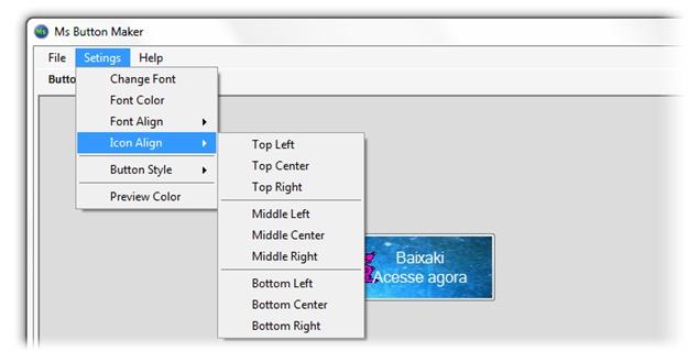 Ms Button Maker - Imagem 2 do software