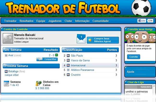Online Football Manager - Imagem 1 do software