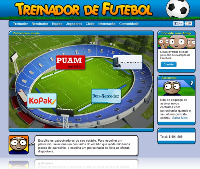 Online Football Manager - Imagem 4 do software
