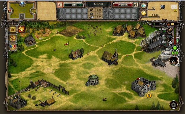 Interface do jogo