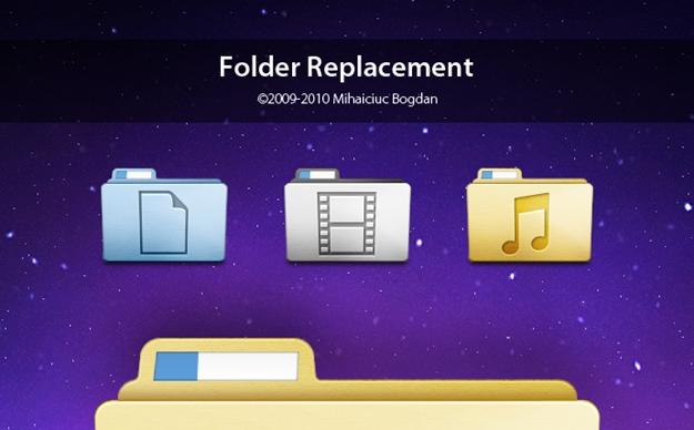 Folder Replacement.