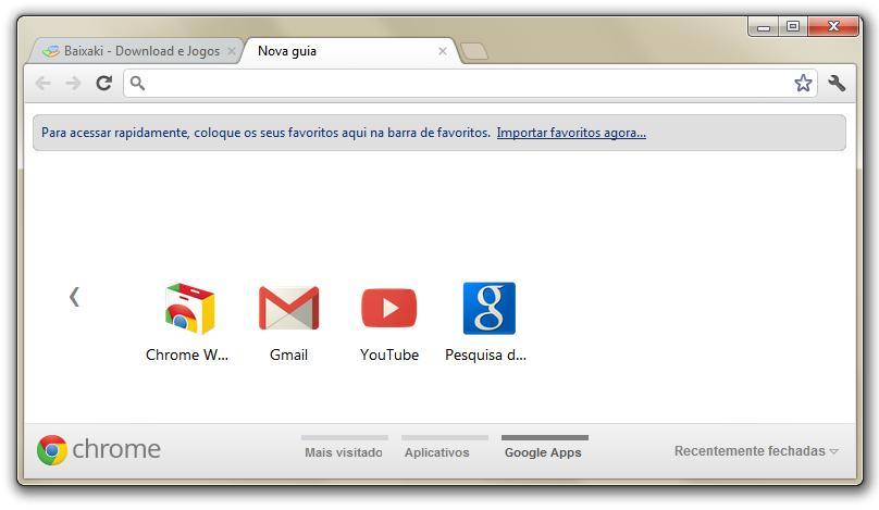Seu navegador, seus aplicativos