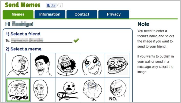 Send Memes - Imagem 1 do software