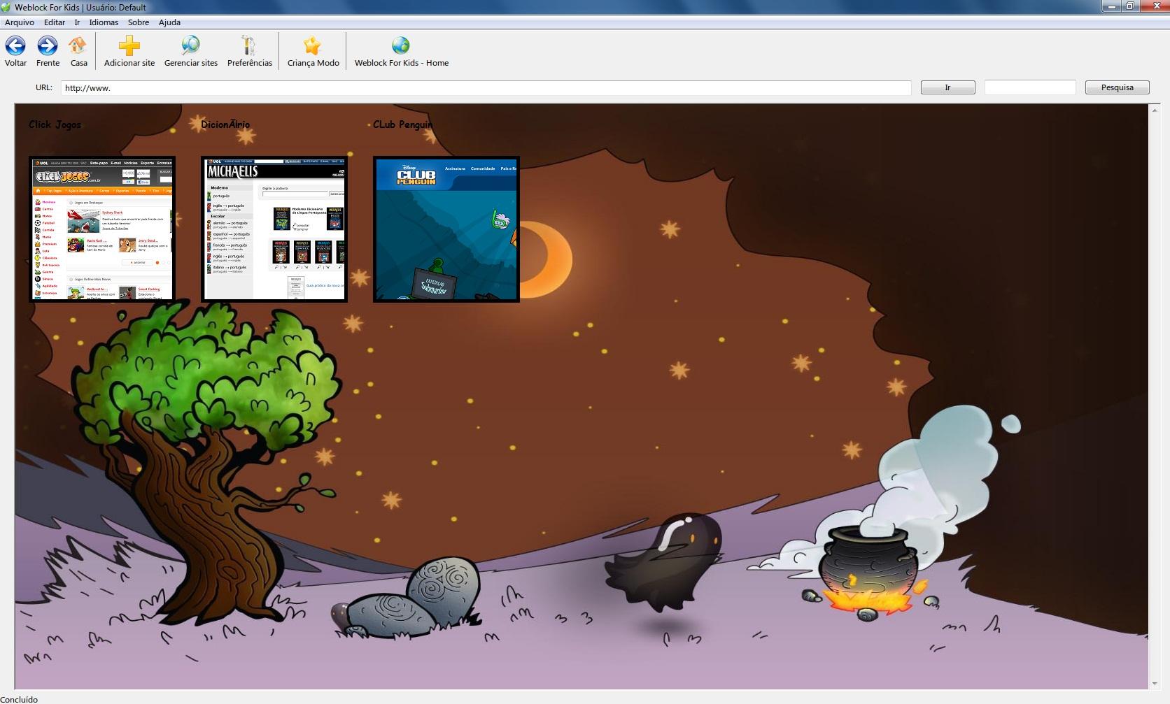 Weblock for Kids - Imagem 1 do software