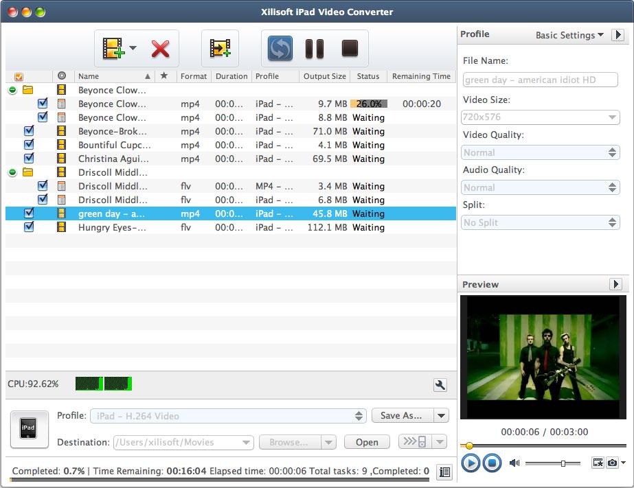 Xilisoft iPad Video Converter - Imagem 1 do software