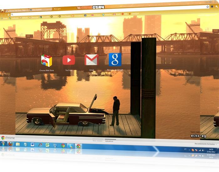 Tema GTA4 Google Chrome - Imagem 1 do software