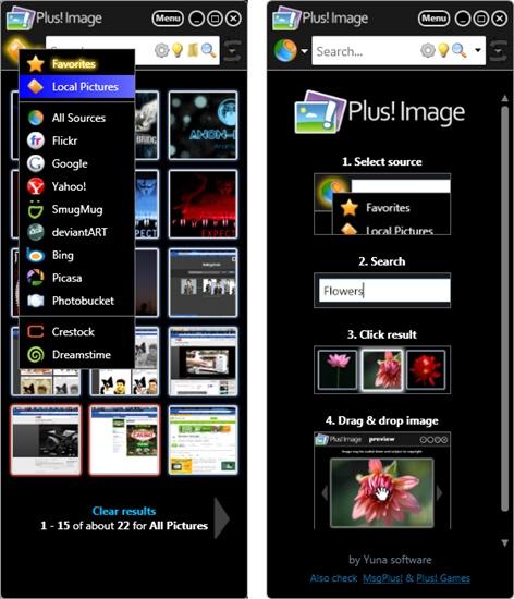 Plus! Image - Imagem 1 do software