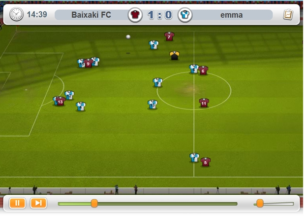 11x11 - Online Football Manager