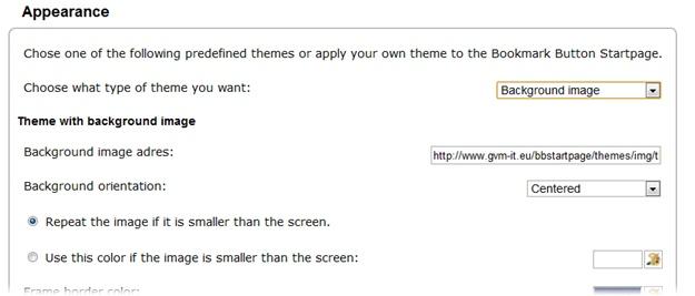 Bookmark Buttons Startpage - Imagem 2 do software