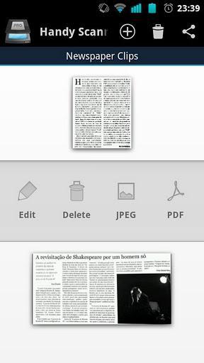 Handy Scanner Free PDF Creator - Imagem 2 do software