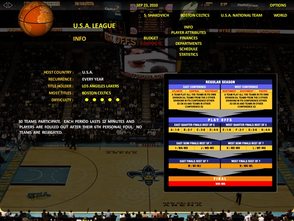 World Basketball Manager - Imagem 1 do software